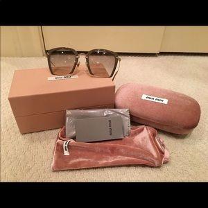 906d0c9cbbd Miu miu authentic beige sunglasses